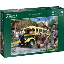 Jumbo Catching The Bus 500 Pieces