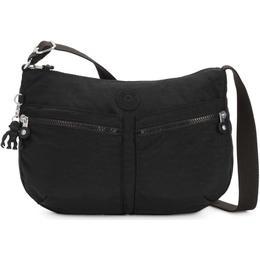 Kipling Izellah Medium Across Body Shoulder Bag - Black Noir