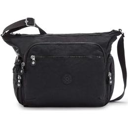 Kipling Gabbie Medium Shoulder Bag - Black Noir