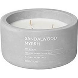 Blomus Fraga Sandalwood Myrrh Large 13cm Scented Candles