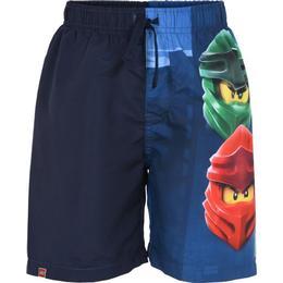 Lego Wear Ninjago Long Shorts - Dark Navy (12010148-590)