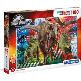 Clementoni Supecolor Jurassic World 180 Pieces