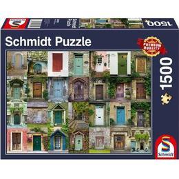Schmidt Collage Doors 1500 Pieces