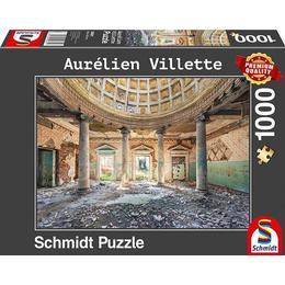Schmidt Topophilia Series Aurélien Villette Sanatorium 1000 Pieces
