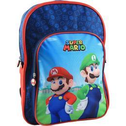 Nintendo Super Mario Backpack 19L - Red/Blue