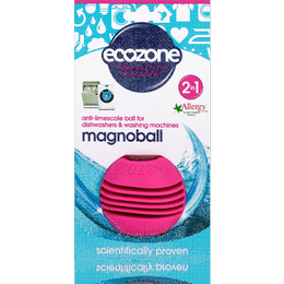 Ecozone Magnoball Anti Limescale Ball for Washing Machine & Dishwasher