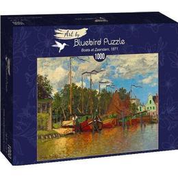 Bluebird Boats at Zaandam 1871 1000 Pieces