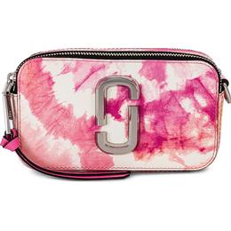 Marc Jacobs Tie Dye Snapshot Crossbody Bag - Pink Multi