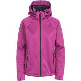 Trespass Angela Women's Windproof Softshell Jacket - Purple Orchid Marl