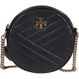 Tory Burch Kira Chevron Circle Bag - Black