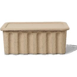 Ferm Living Paper Pulp 15cm 2-pack Storage box