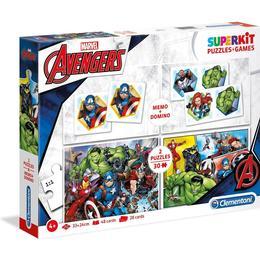 Clementoni Superkit Marvel Avengers 2x30 Pieces