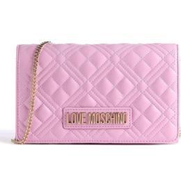 Love Moschino Evening Crossbody Bag - Mauve