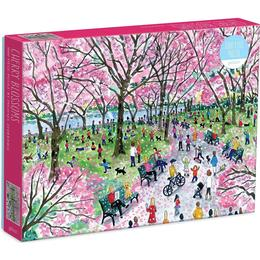 Galison Michael Storrings Cherry Blossoms 1000 Pieces