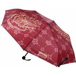Cerda Harry Pottter Hogwarts Manual Folding Umbrella Red