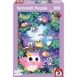 Schmidt In Owl Wood 200 Pieces