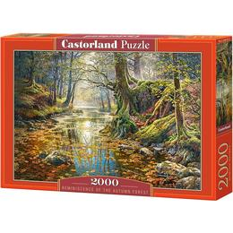Castorland Reminiscence of the Autumn Forest 2000 Pieces
