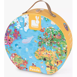 Janod World Map Giant Puzzle 300 Pieces