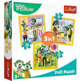 Trefl Rodzina Treflikow 106 Pieces