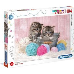 Clementoni Sweet Kittens 104 Pieces