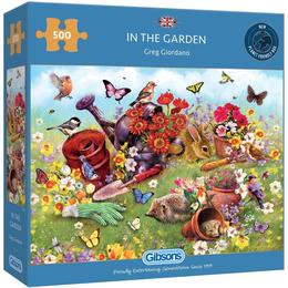 Gibsons In the Garden 500 Pieces