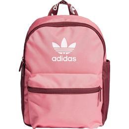 Adidas Originals Adicolor Classic Backpack Small - Rose Tone/Victory Crimson /White