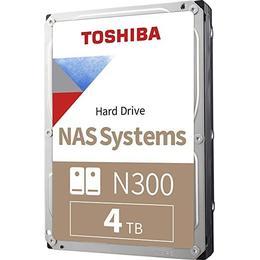 Toshiba N300 HDWG440UZSVA 256MB 4TB