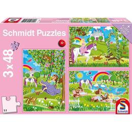 Schmidt Spiele Princess in the Palace Garden 3x48 Pieces