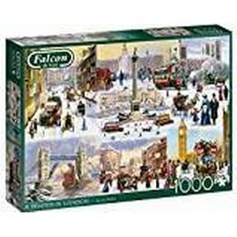 Jumbo A Winter in London 1000 Pieces