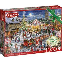 Jumbo The Christmas Carrousel 2x1000 Pieces