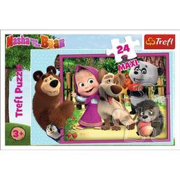 Trefl Masha & The Bear