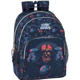 Safta Star Wars Death Star Double Backpack - Dark Blue