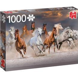 Jumbo Premium Collection Desert Horses 1000 Pieces