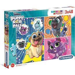 Clementoni Disney Junior Supercolor Puppy Dog Pals 3x48 pieces