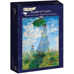 Bluebird Woman with a Parasol 1000 Pieces