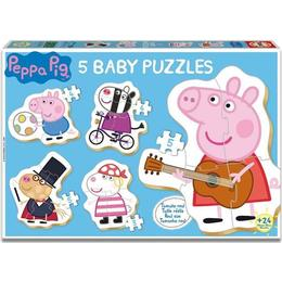 Educa Peppa Pig 5 Baby Puzzle 21 Pieces