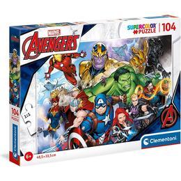 Clementoni Supercolor Marvel Avengers 104 Pieces