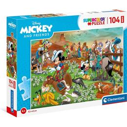 Clementoni Supercolor Disney Mickey and Friends 104 Pieces
