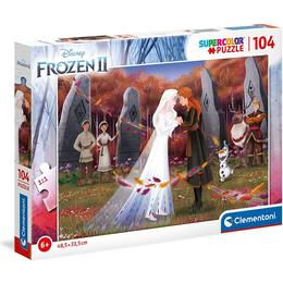 Clementoni Supercolor Frozen 2 104 Pieces