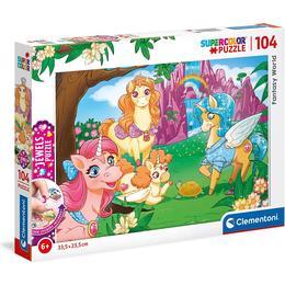 Clementoni Supercolor Fantasy World Jewels 104 Pieces