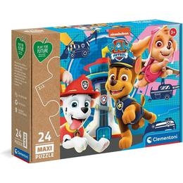 Clementoni Paw Patrol Play For Future 24 Pieces