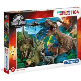 Clementoni Supercolor Jurassic World 104 Pieces