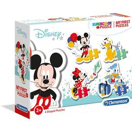 Clementoni Supercolor My First Puzzle Disney Baby 3+6+9+12 Pieces