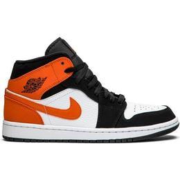 Nike Air Jordan 1 Mid M - Black/Starfish-White