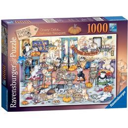 Ravensburger Crazy Cats Autumn Banquet 1000 Pieces