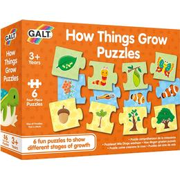 Galt How Things Grow Puzzle 24 Pieces
