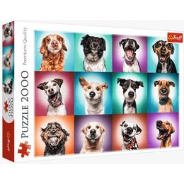 Trefl Funny Dog Portraits 2000 Pieces