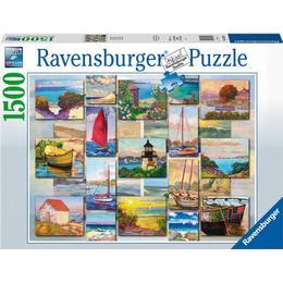 Ravensburger Coastal Collage 1500 Piece