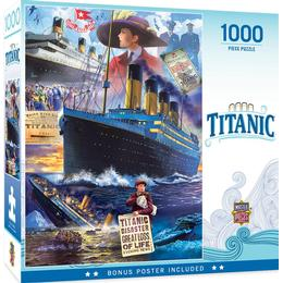 Masterpieces Puzzle Titanic Collage 1000 Pieces