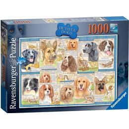 Ravensburger Dutiful Dogs 1000 Pieces